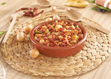 DRY BEAN STEW WITH SHALLOT